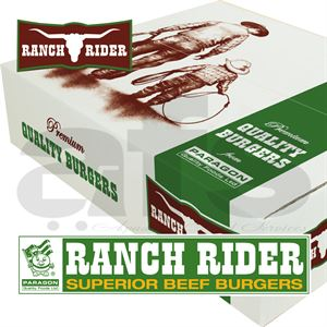 PARAGON RANCH RIDER BURGER [48 X 113g] *H