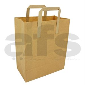 BROWN PAPER CARRIER LARGE [250 PCS]