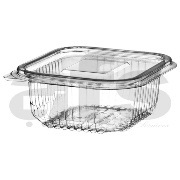 HINGED SALAD CONTAINER 370cc [50 PCS]
