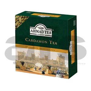 AHMAD TEA BAGS CARDAMON [100PCS]