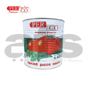 PIZZA SAUCE PERCO SMALL TIN [3Kg]