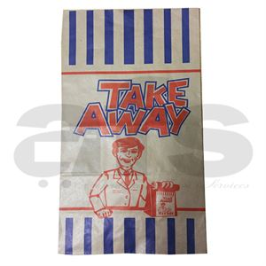TAKE AWAY BAGS - LARGE  [250 PCS]