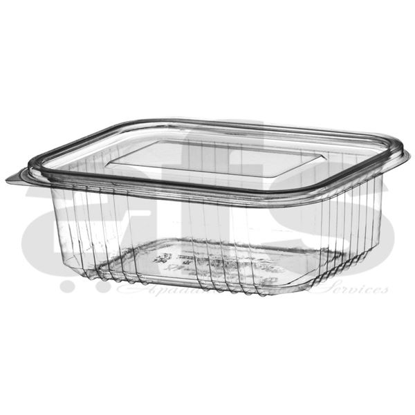 HINGED SALAD CONTAINER 500cc [50 PCS]