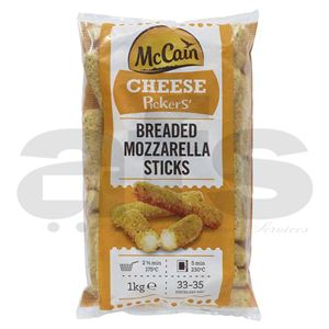 BREADED MOZZARELA STICKS McCAIN [1Kg]