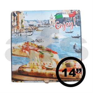 "PIZZA BOX - 14"" VENICE [100 PCS]"
