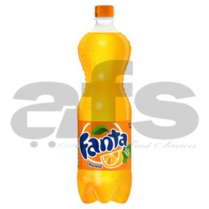 FANTA ORANGE BOTTLES [12 X 1.25L]