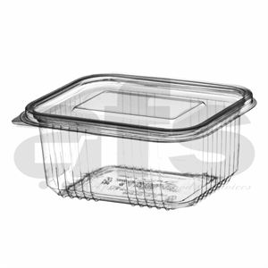 HINGED SALAD CONTAINER 750cc [50 PCS]