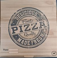 "PIZZA BOX - 14"" BROWN [90 PCS]"