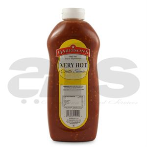 VERY HOT CHILLI SAUCE HARRISONS [970ML]