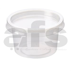 CLEAR CONTAINER & LIDS 4oz [1000 PCS]