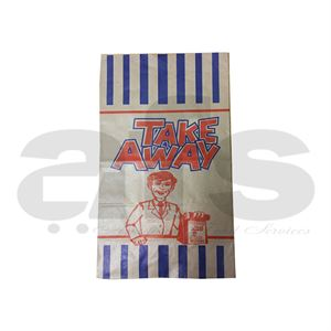 TAKE AWAY BAGS - MED  [250 PCS]