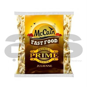 FRIES - McCAIN PRIME [6mm] JULIENNE   1/4 [4 X 2.2Kg]