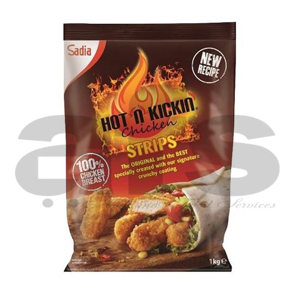 HOT  CHICKEN STRIPS [3Kg] *H