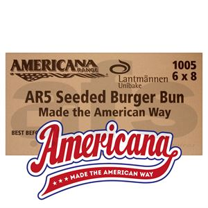 "AMERICANA 5"" SEEDED BUN [48 PCS]"