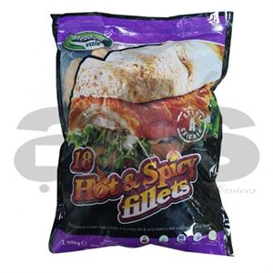 CHICKEN FILLET HOT & SPICY [18 X 110g] *H
